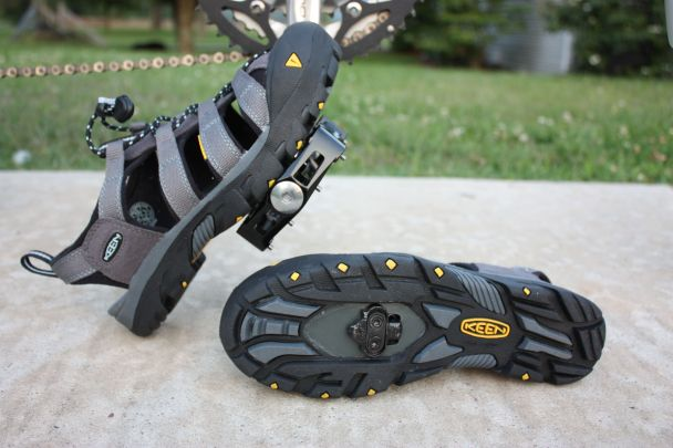 Keen Commuter and Wellgo WAM-D10 pedal