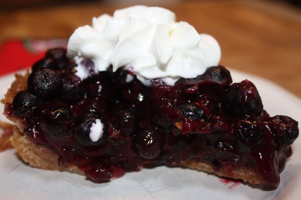 The No-Bake Blueberry Pie ... it's quite delicious!