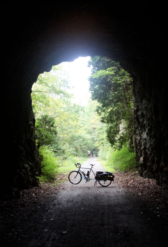 "the ""enlightened"" bike at the end of the tunnel..."