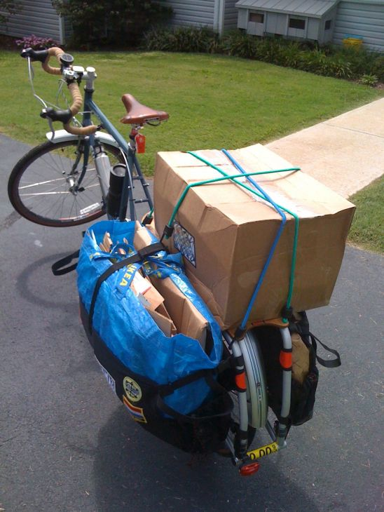 Xtracycle always delivers
