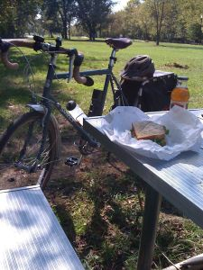 bike lunch