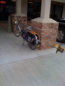 lawn & garden bike
