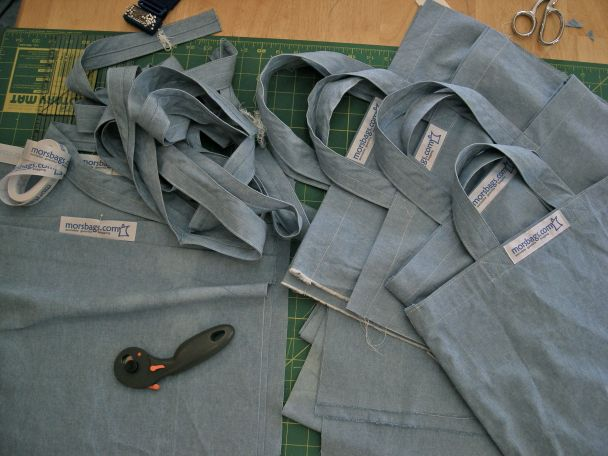 sewing bags for Morsbags