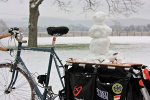 Xtracycle - great for giving your winter friends a ride!