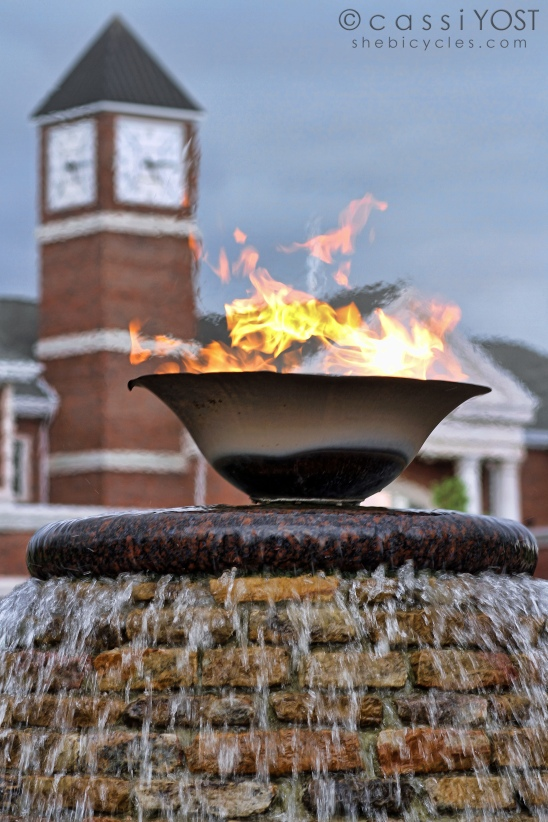 ... fire and water (Lee University)
