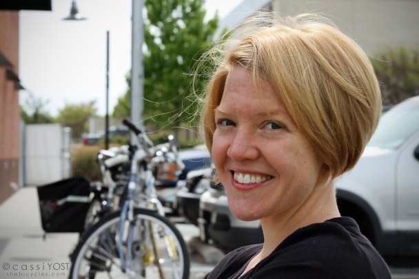 my friend Sarah: concert violinist, coffee lover and cyclist