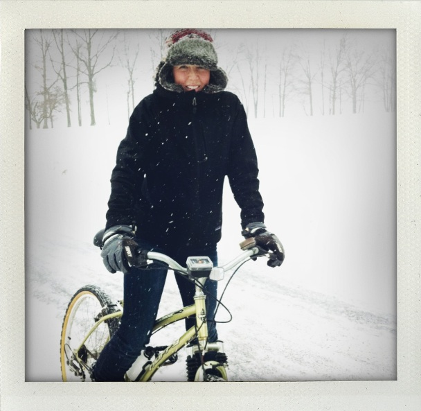 kind of like getting a bike for Christmas
