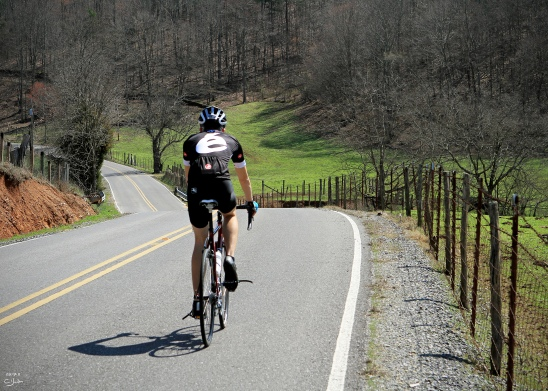 riding (or rather, trying to keep up with) Dillon