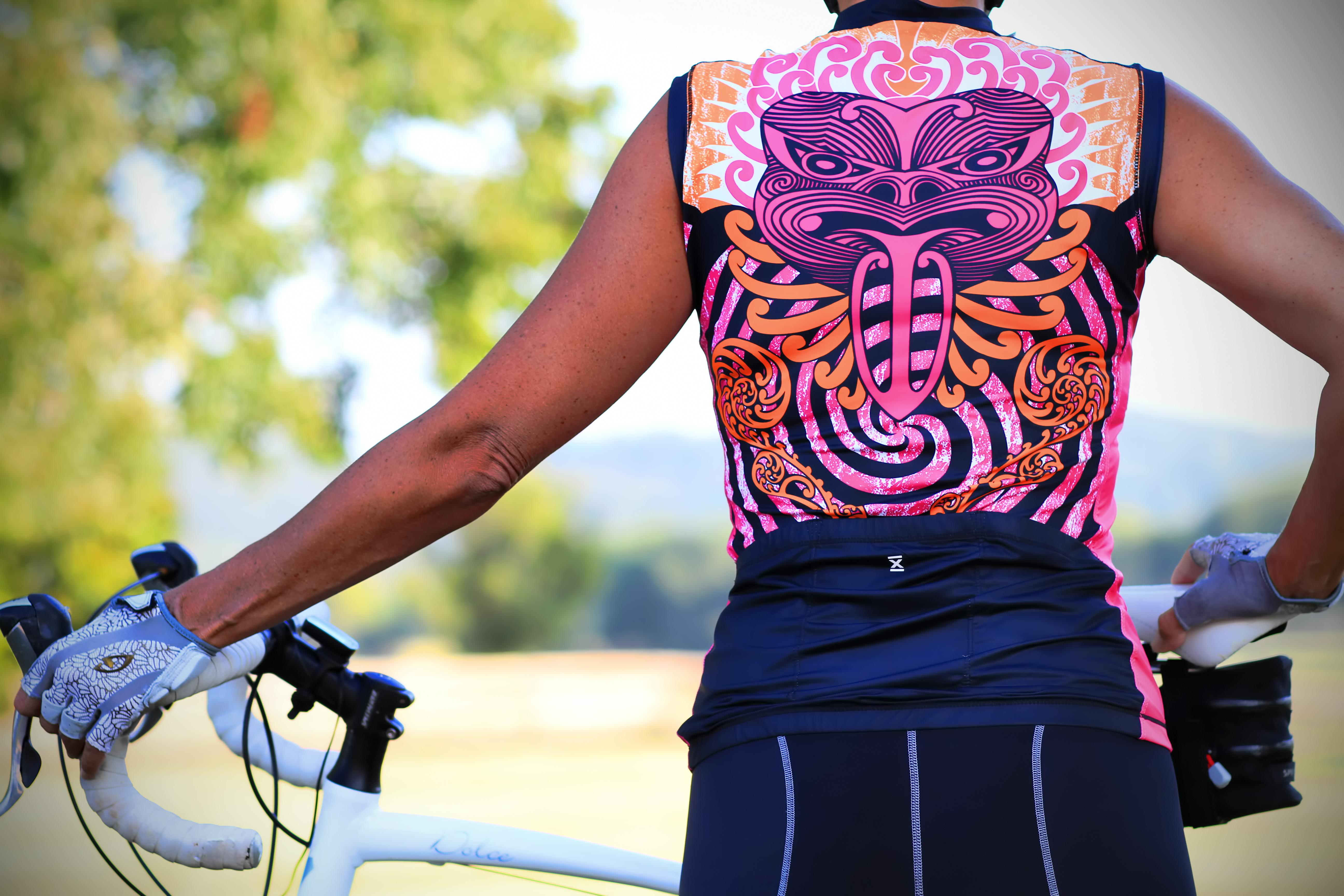 Maori Spiral Cycling Jersey  06ca986be